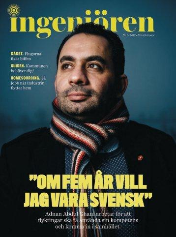 """""""OM FEM ÅR VILL JAG VARA SVENSK"""""""