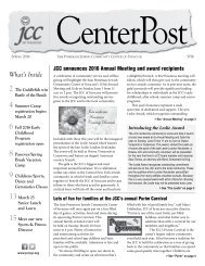 2016 Spring CenterPost