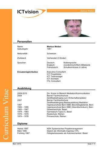 Cv Deutschpdf Baobacom