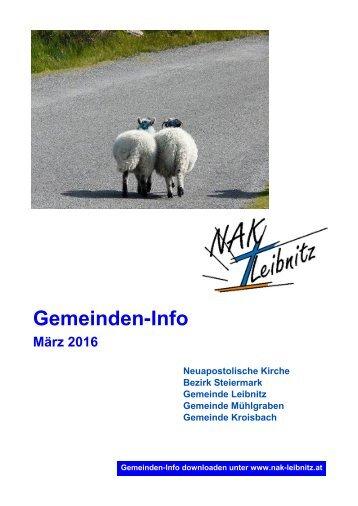 Gemeindeinfo März-April 2016