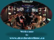 Limo Service Kitchener Ontario