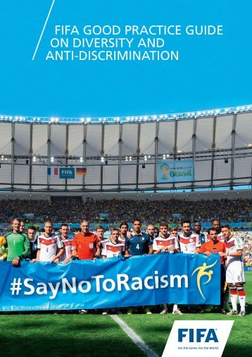 FIFA GOOD PRACTICE GUIDE ON DIVERSITY AND ANTI-DISCRIMINATION