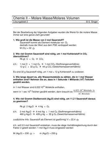 volumenberechnungen-mit lösungen