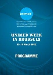 UNIMED-Week-in-Brussels-Programme