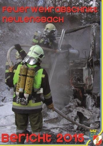 Jahresbericht 2015 Abschnitssfeuerwehrkommando Neulengbach