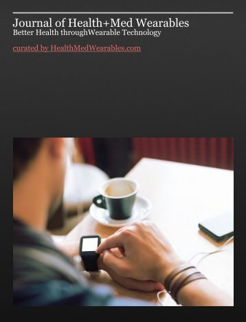 Journal of Health+Med Wearables