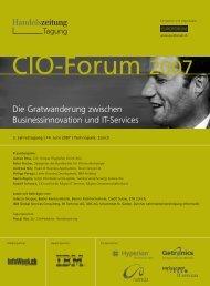 Die Gratwanderung zwischen Businessinnovation und IT-Services ...