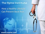 How a Healthy Lifestyle Can Prevent Back Pain?
