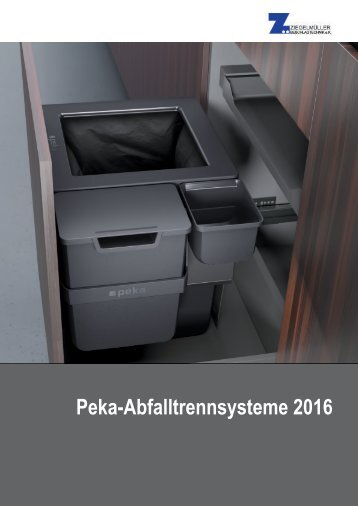 Peka Abfalltrennssysteme 2016