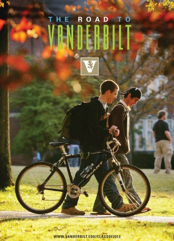 The Road To Vanderbilt (PDF) - Common Place - Vanderbilt University