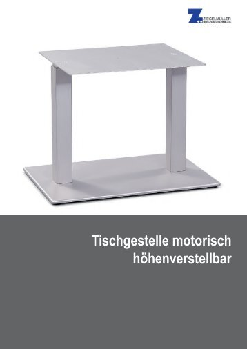 Tischgestelle motorisch höhenverstellbar
