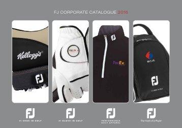 FJ16 Corporate Crested Brochure