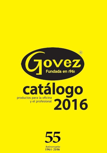 Catalogo Govez 16 17