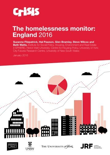 The homelessness monitor England 2016