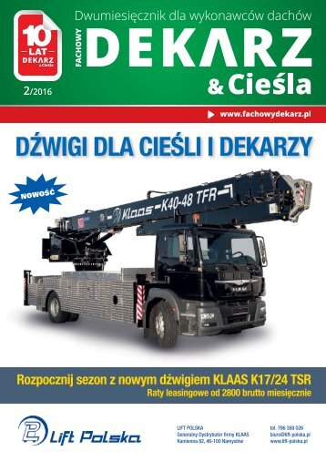Fachowy Dekarz & Cieśla 2/2016