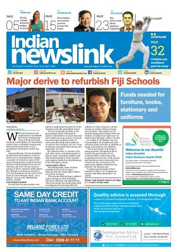Indian Newslink Digital Edition Mar 15, 2016