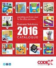 Codex 2016 Catalogue
