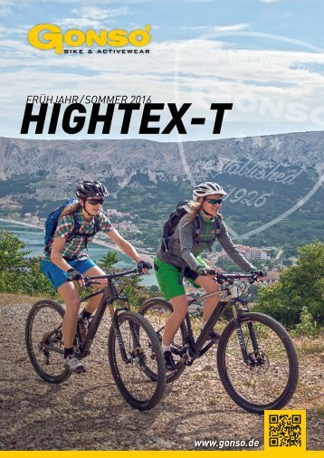 GONSO HIGHTEX-T SOMMER 2016