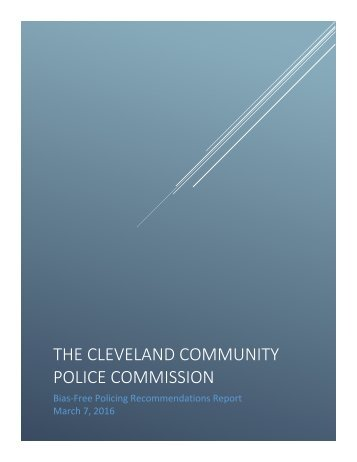 THE CLEVELAND COMMUNITY POLICE COMMISSION