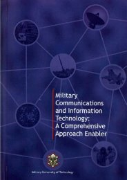 Military Communications and Information Technology: A - TELDAT