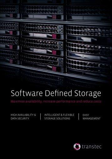 Software Defined Storage - TE