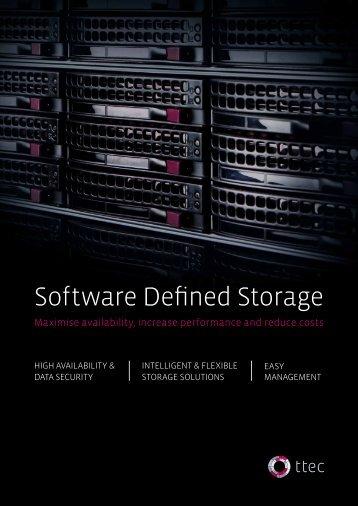 Software Defined Storage - TN