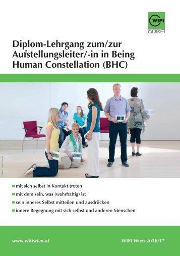 Diplom-Lehrgang zum Aufstellungsleiter in Being Human Constellation (BHC) im WIFI Wien