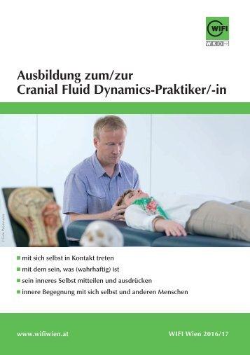 Ausbildung zum Cranial Fluid Dynamics-Praktiker im WIFI Wien