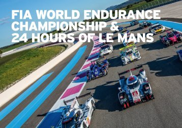 FIA WORLD ENDURANCE CHAMPIONSHIP & 24 HOURS OF LE MANS