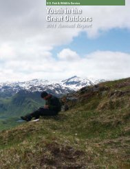 Youth in the Great Outdoors - Annual Report 2011 - National ...