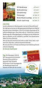 Wanderbroschüre Zwiesel - Seite 2