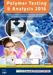 Polymer Testing & Analysis 2016