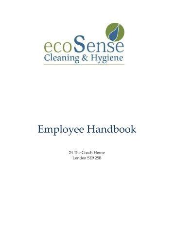 Eco Employee Handbook R3-3-1
