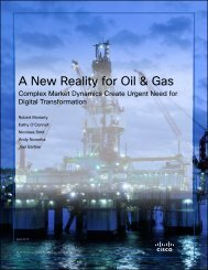 A New Reality for Oil & Gas