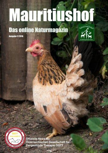 Mauritiushof Natur Magazin März 2016