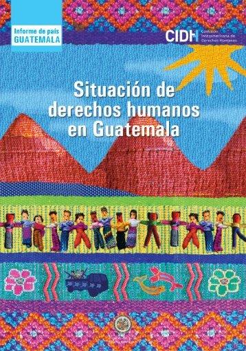 humanos en Guatemala Diversidad desigualdad y exclusión