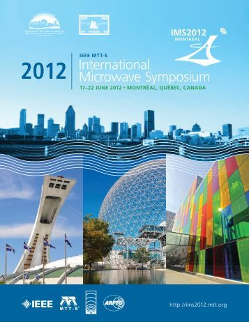 Final Program Book - IMS2012 International Microwave Symposium ...