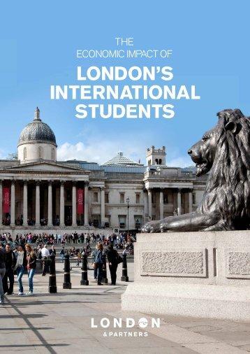LONDON'S INTERNATIONAL STUDENTS