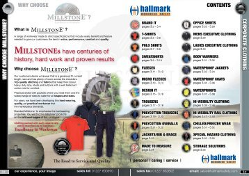 sales fax - Hallmark Workwear and Safety