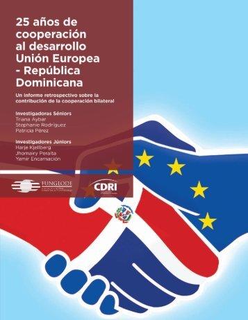 25 años de cooperación al desarrollo Unión Europea – República Dominicana