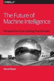 The Future of Machine Intelligence