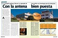 La compañía gallega Televés, un ejemplo de innovación en ...