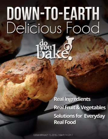 2016 - 17 Do You Bake? Product Catalog