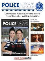 Police News By Countrywide Austral Vol 96 No 3 March 2016
