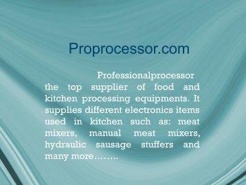 BOWL CHOPPER provided by Proprocessor.com