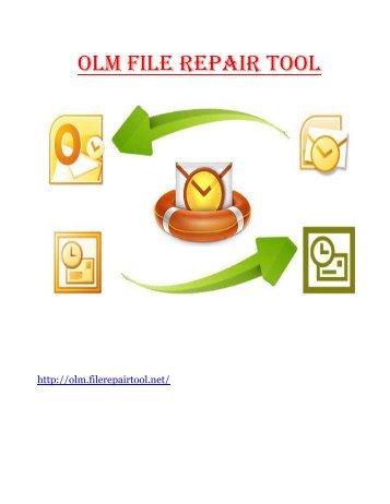 OLM File Repair Tool
