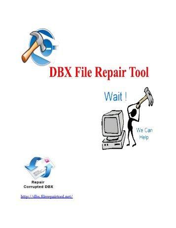Repair corrupt DBX file