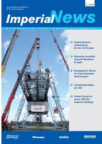 entwicklung bei der ILI-Gruppe Rijnaarde verstärkt Imperial ...