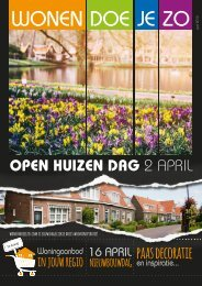 WonenDoeJeZo Zuid-West Nederland, editie april 2016