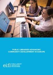 public libraries advancing community development in europe